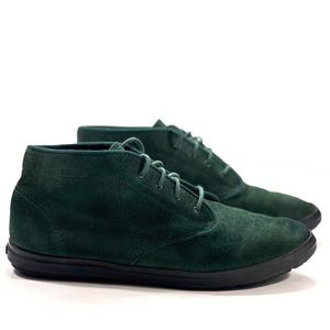 Keds Vintage Green Suede Chukkas